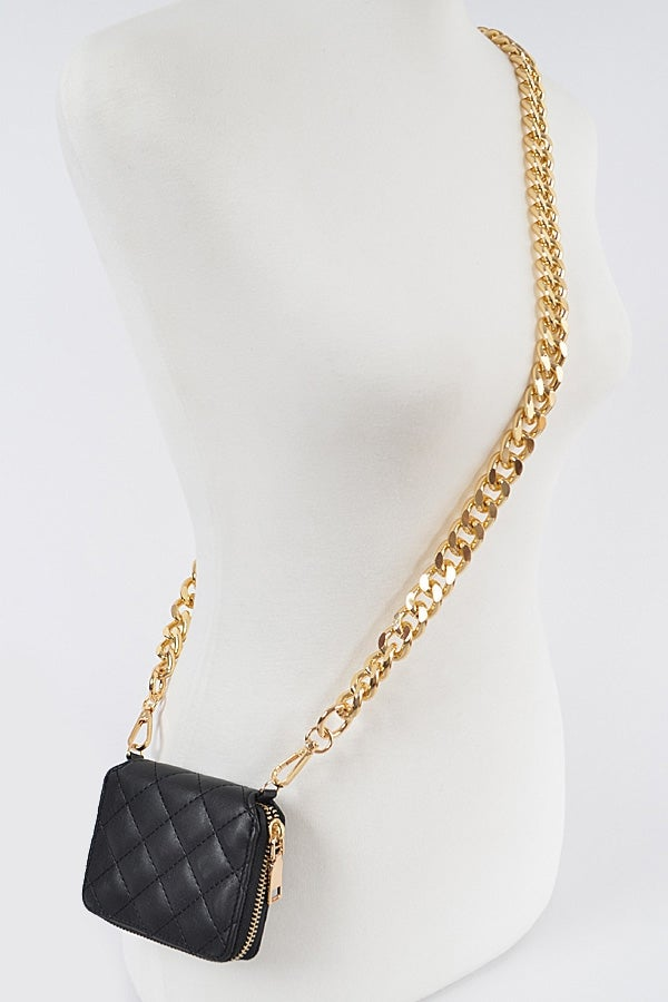 Image of Gold Chain Wallet