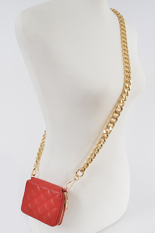 Image of Gold Chain Wallet {Org. $40}