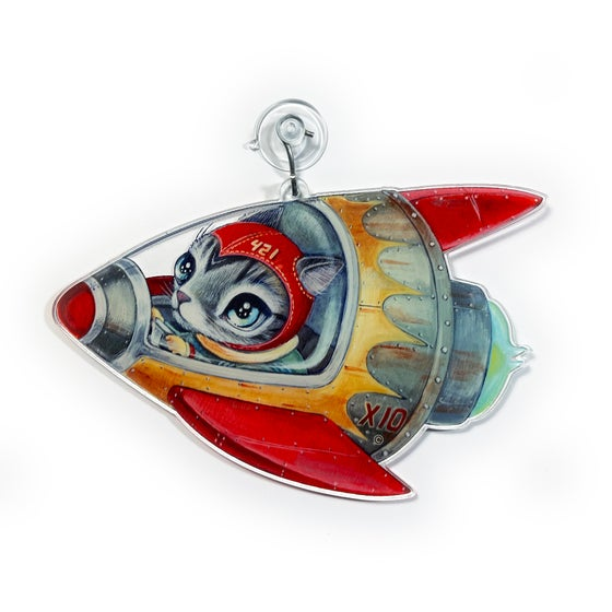 Image of Space Racer (Window Charm)