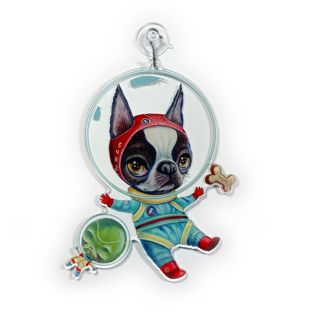 Image of Space Bully (Window Charm)