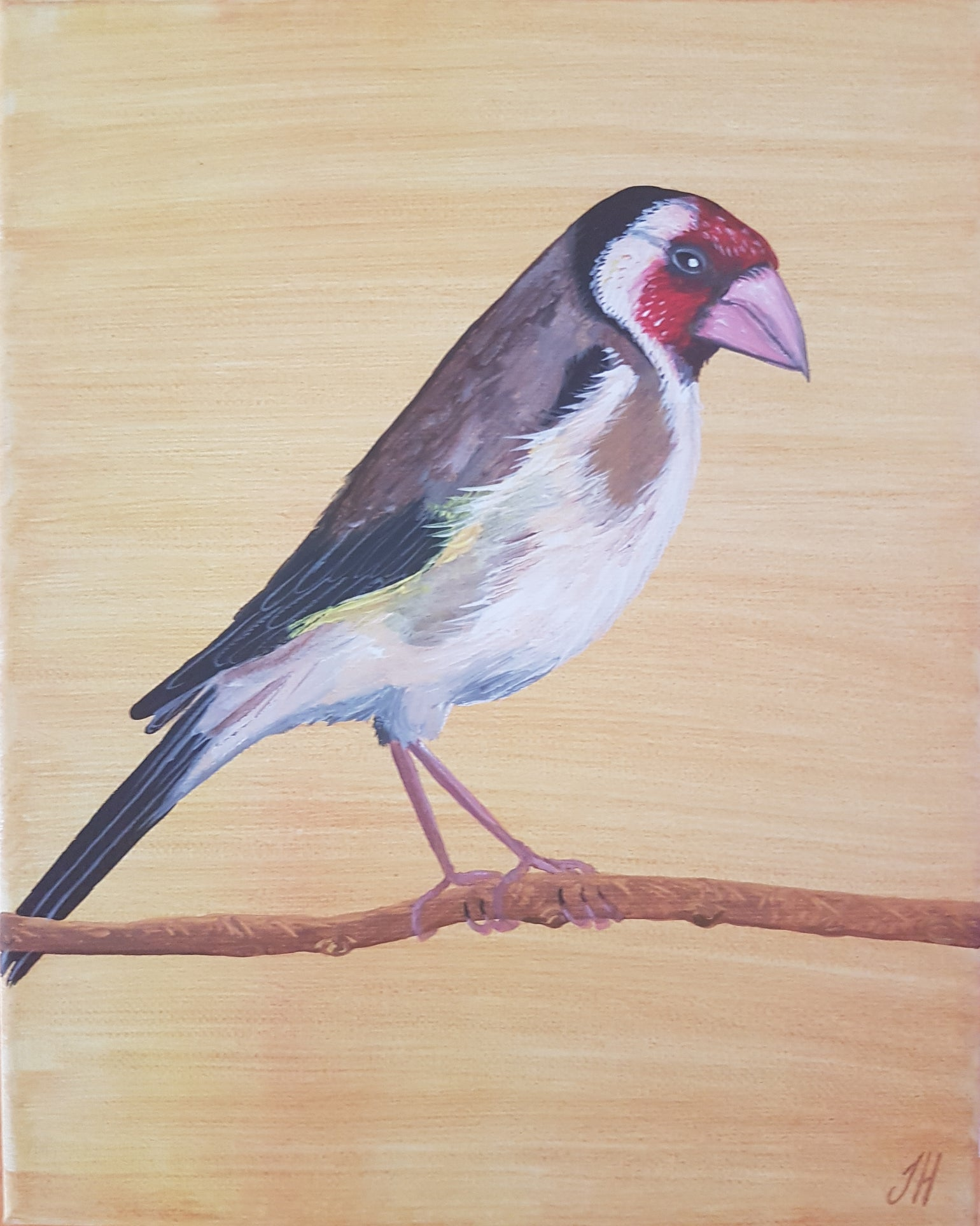 Image of European Goldfinch Original Painting