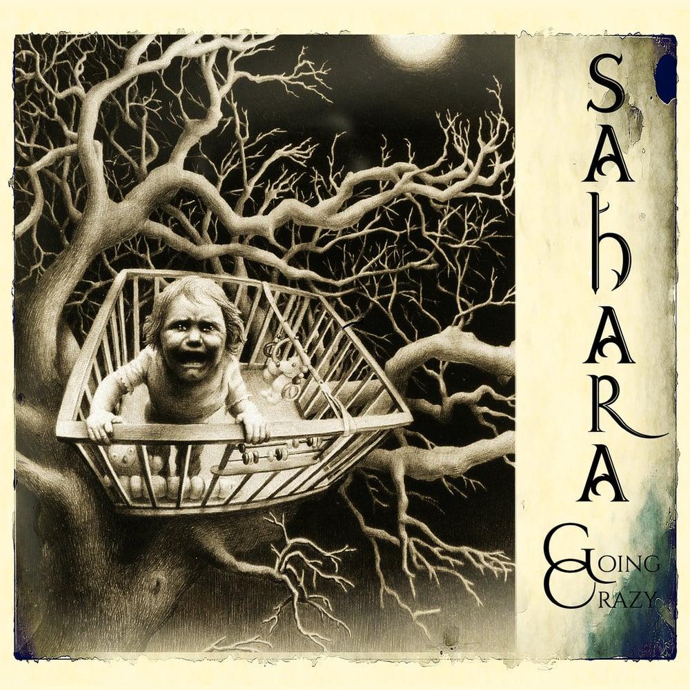 Image of SAHARA - Going Crazy (DESERT WHITE MARBLED VINYL PRE-ORDER)