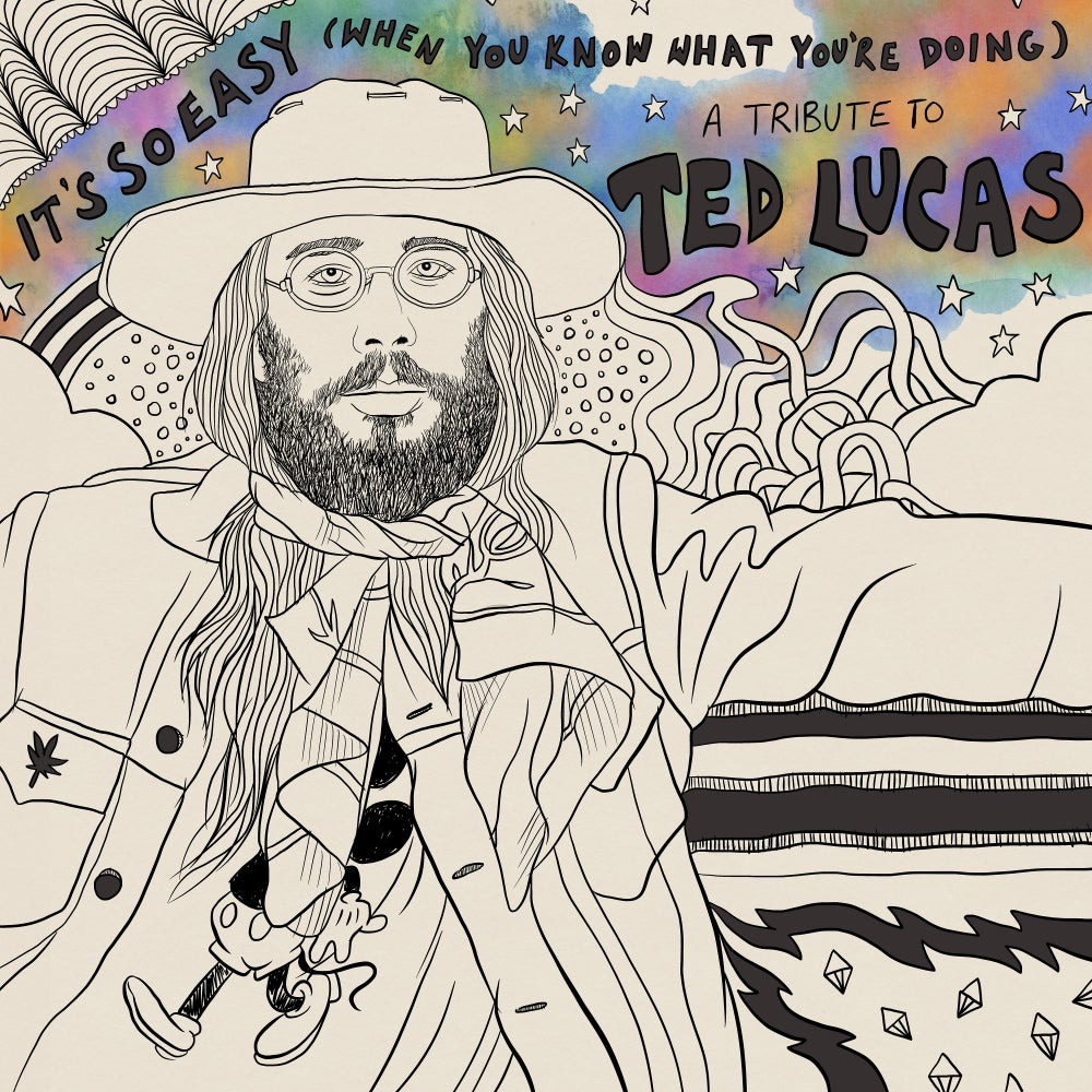 """""""It's So Easy (When You Know What You're Doing): A Tribute to Ted Lucas"""" Cassette by Various Artists"""