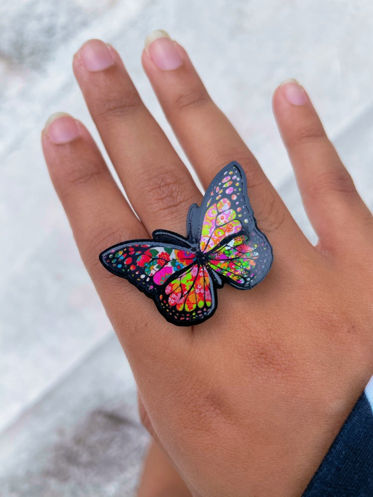 Image of Diana Butterfly Ring