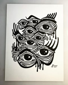 Image of The Eyes Have It - GIGART Doodle