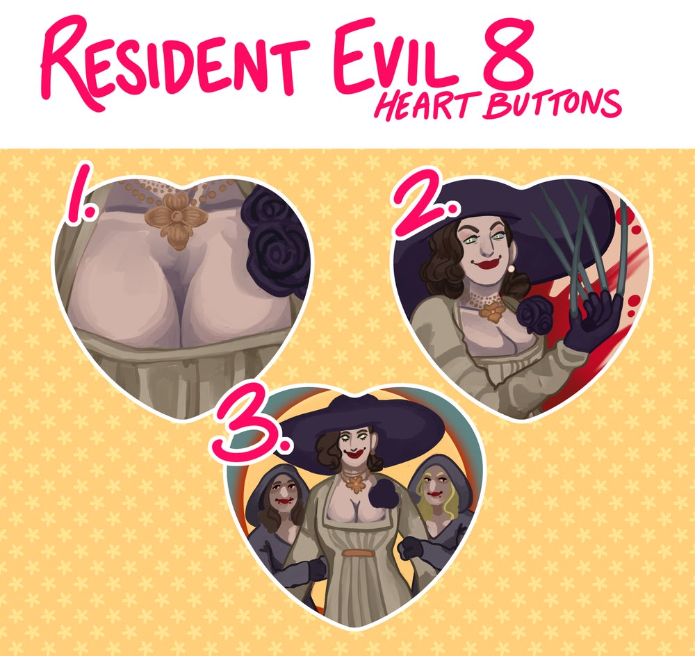 RE8: Village Heart Buttons!