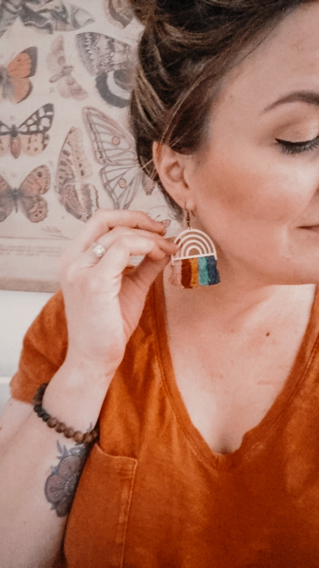 Image of Double Rainbow Earrings