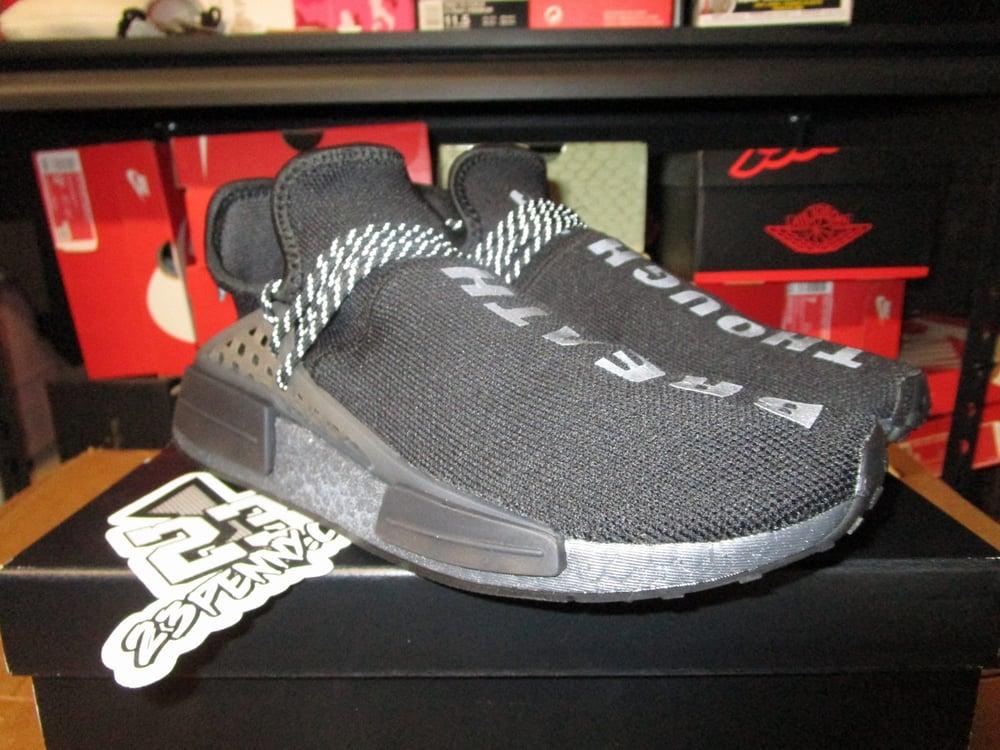 "Image of adidas NMD Hu x Pharrell ""Human Race/Triple Blk"""