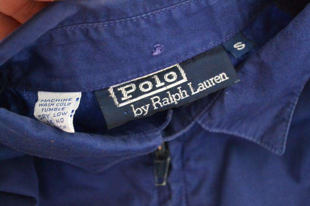 Image of Vintage 1980's Ralph Lauren Polo Striped Lightweight Jacket Sz.S