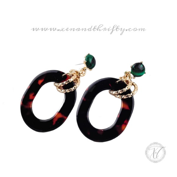 Image of Jade Earring