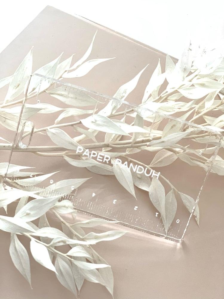 Image of Acrylic Washi Cutter