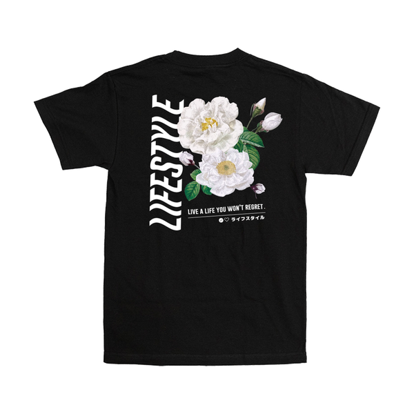 Image of LIFESTYLE IN BLOOM TEE