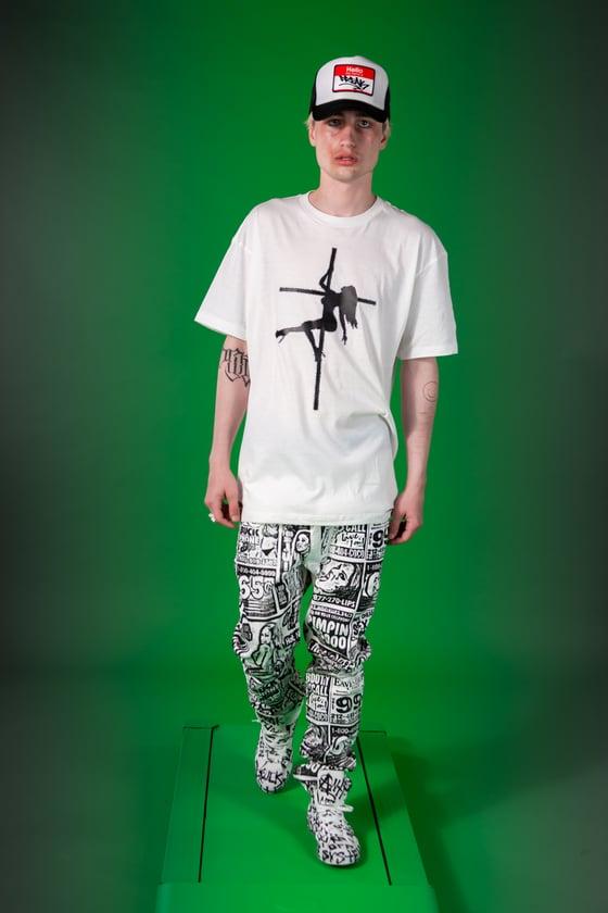 Image of Holy Fans T-Shirt & Sex-Talk Denim Jeans