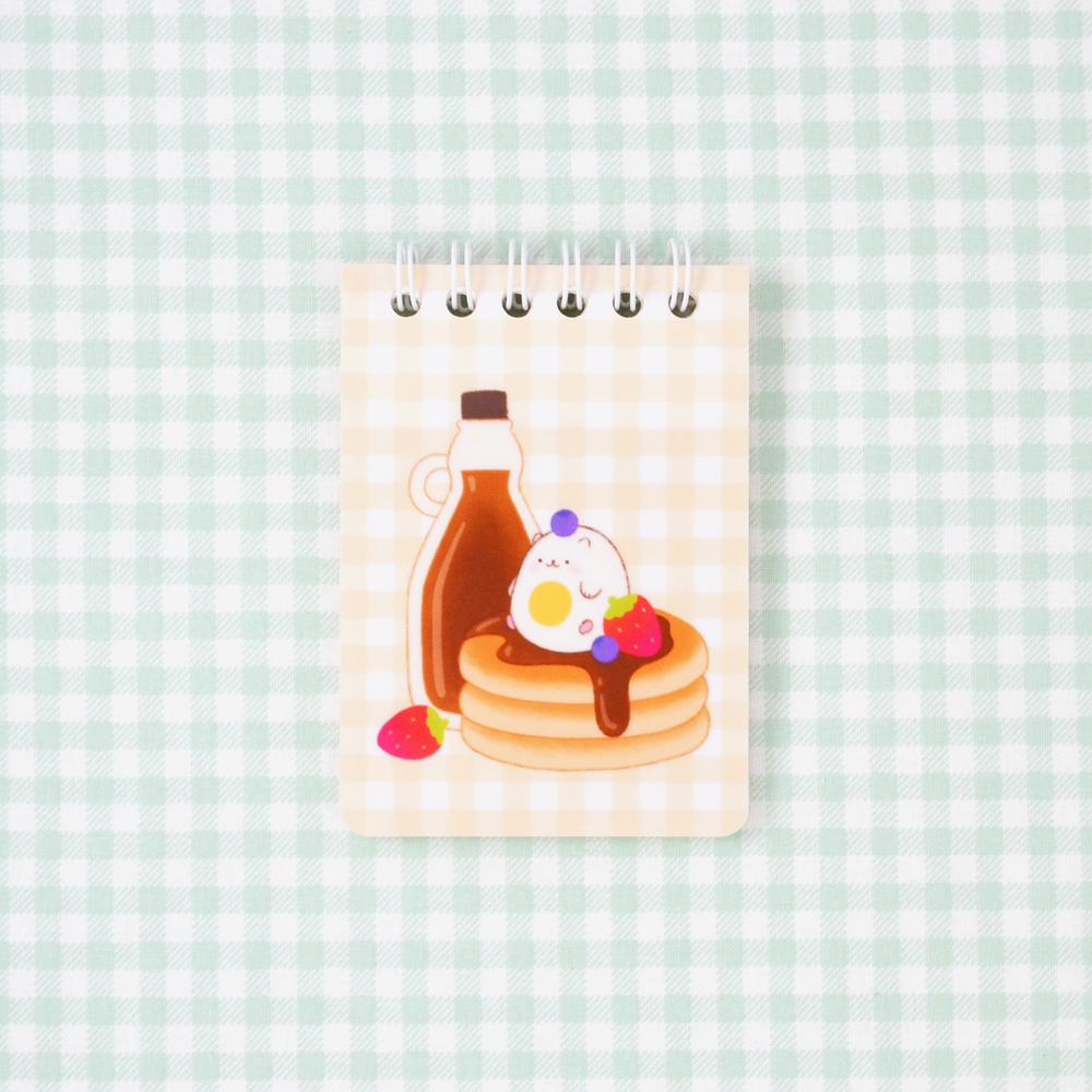 Sunny Breakfast Notepad - Yellow