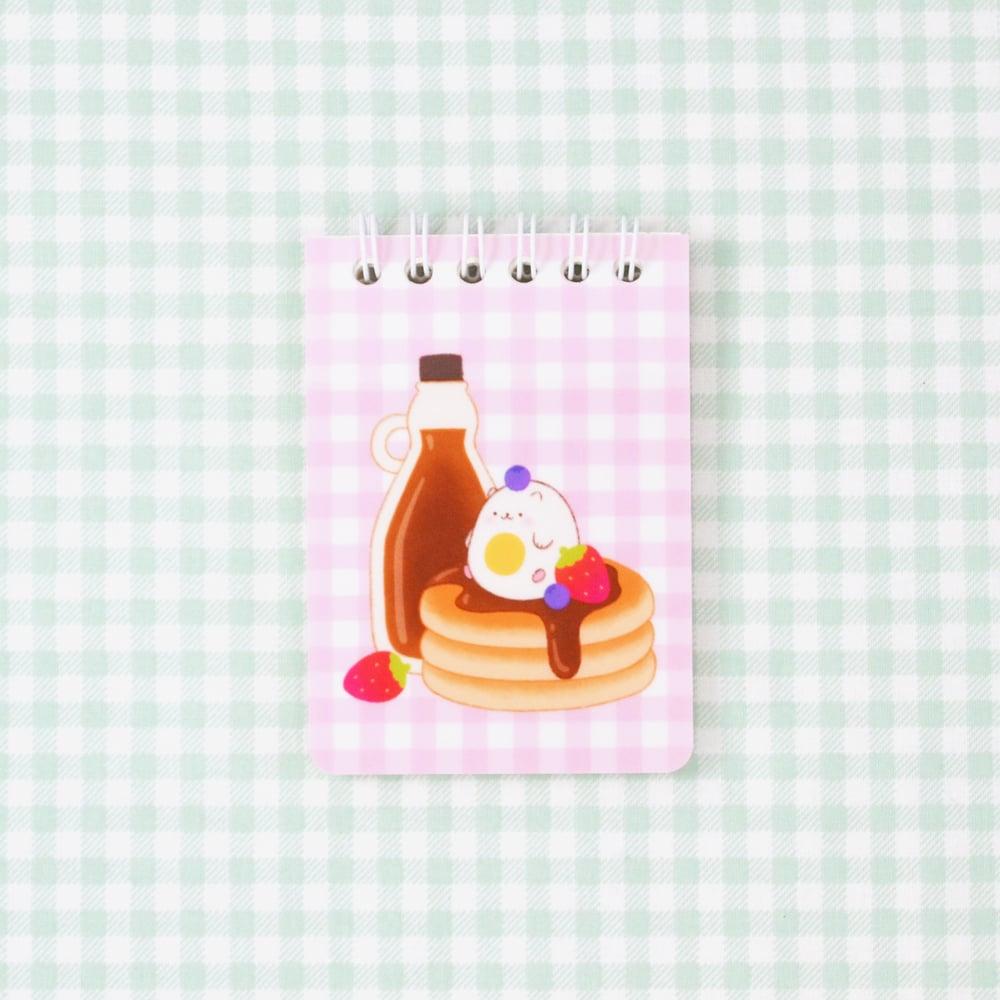 Sunny Breakfast Notepad - Pink
