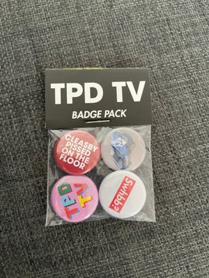 Image of TPD TV Badge Pack