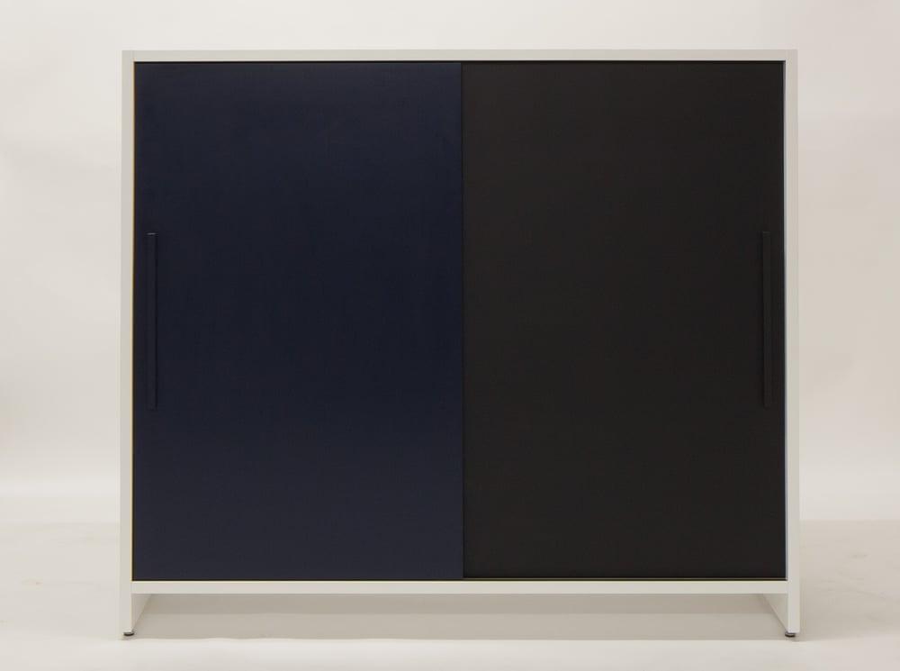 Image of Schrankmöbel schwarz/nachtblau
