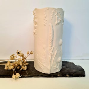 Porcelain Candle Cover Veronica