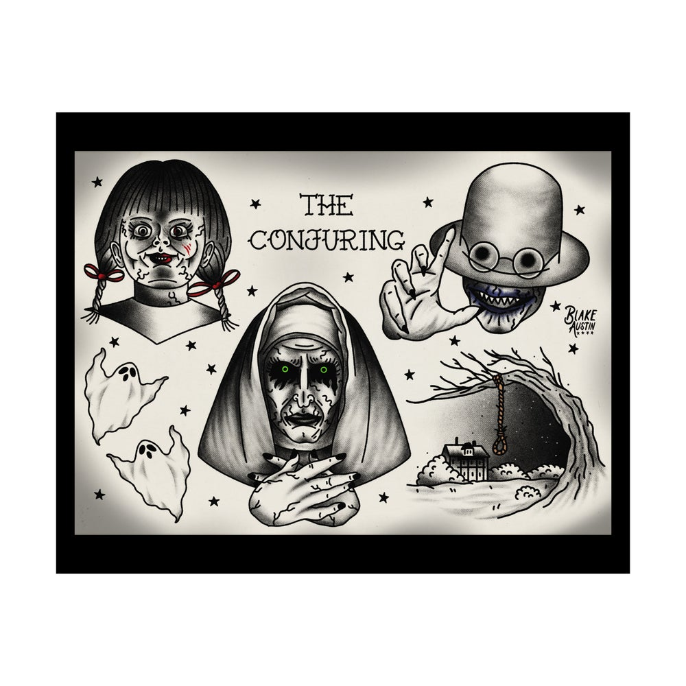 Image of The Conjuring flash 8 x 10 print
