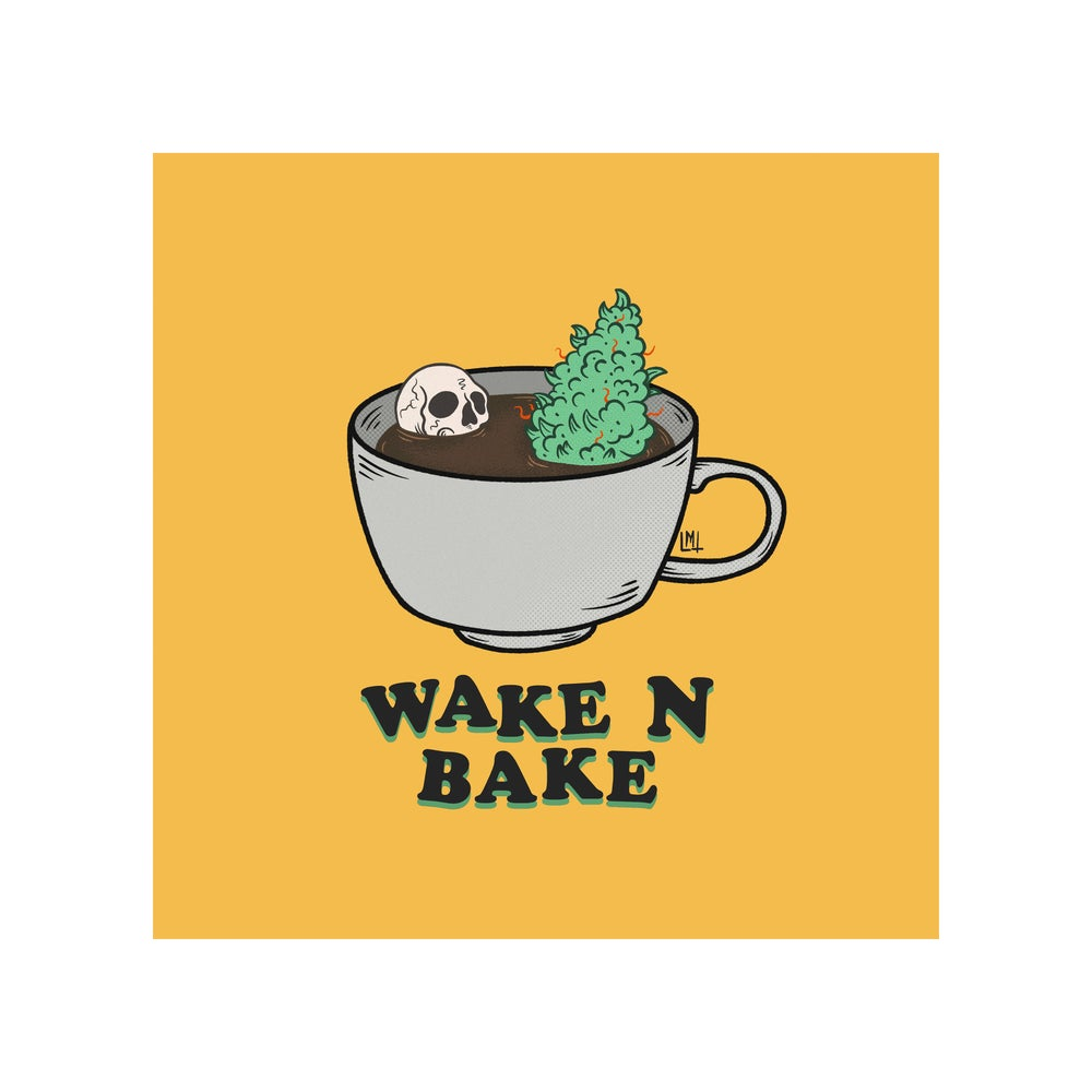 Image of Wake N Bake 8 x 8 print