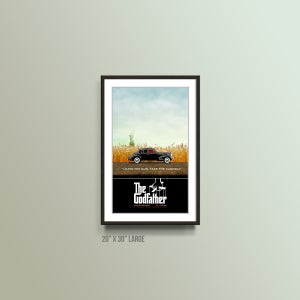 Image of Alternative Movie Poster Art - The Godfather