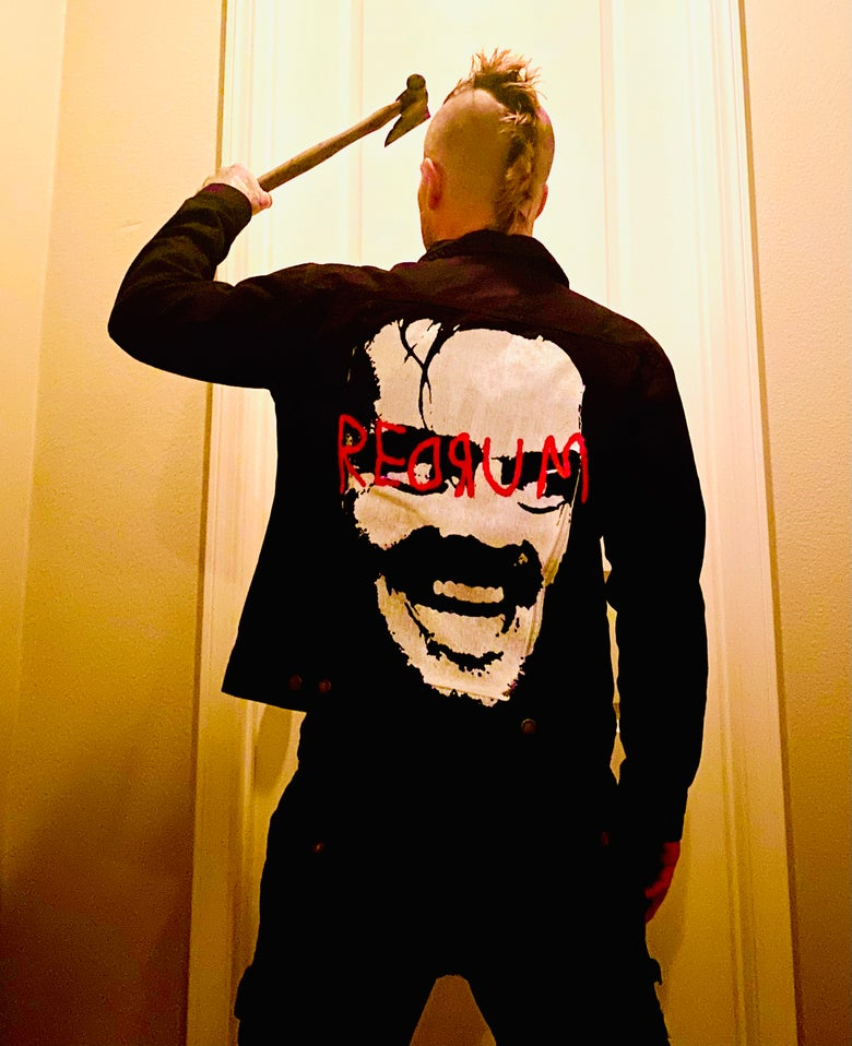 Image of REDRUM Denim Jacket