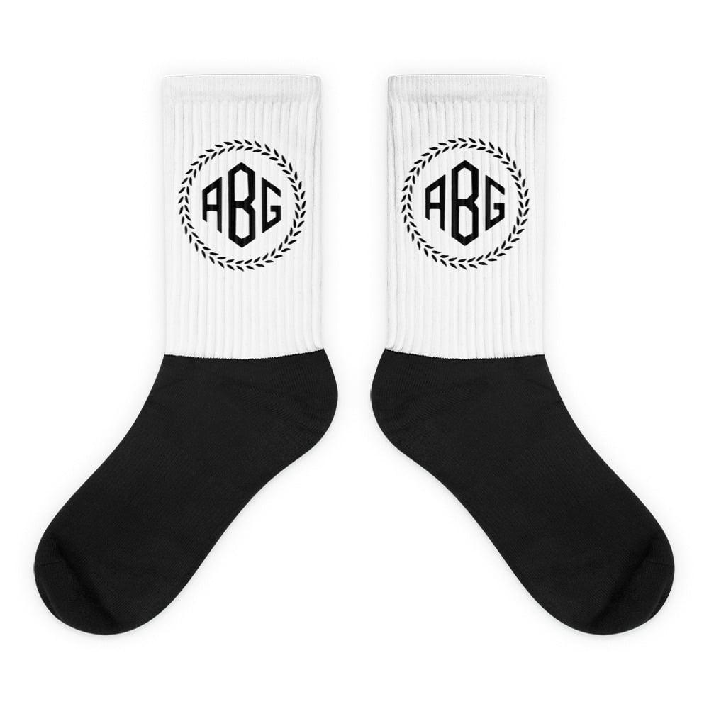 Image of ABG Monogram Socks