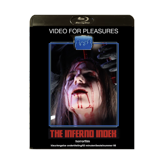 Image of THE INFERNO INDEX - Limited 23 Vintage Horror Edition Signed and stamped Blu-ray-R + DVD
