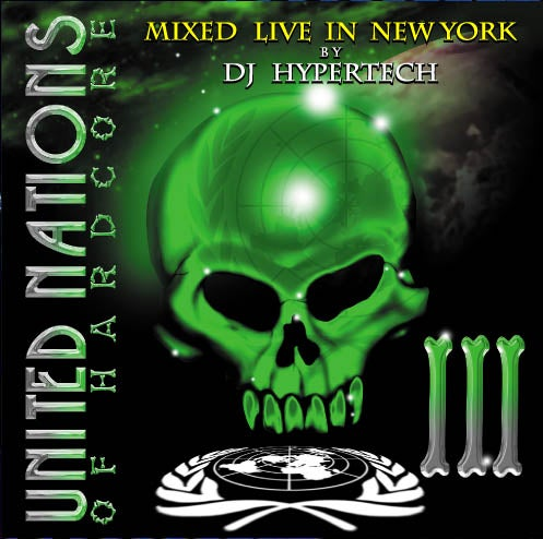 ATL088-2 // UNITED NATIONS OF HARDCORE  VOL.3 (CD COMPILATION)