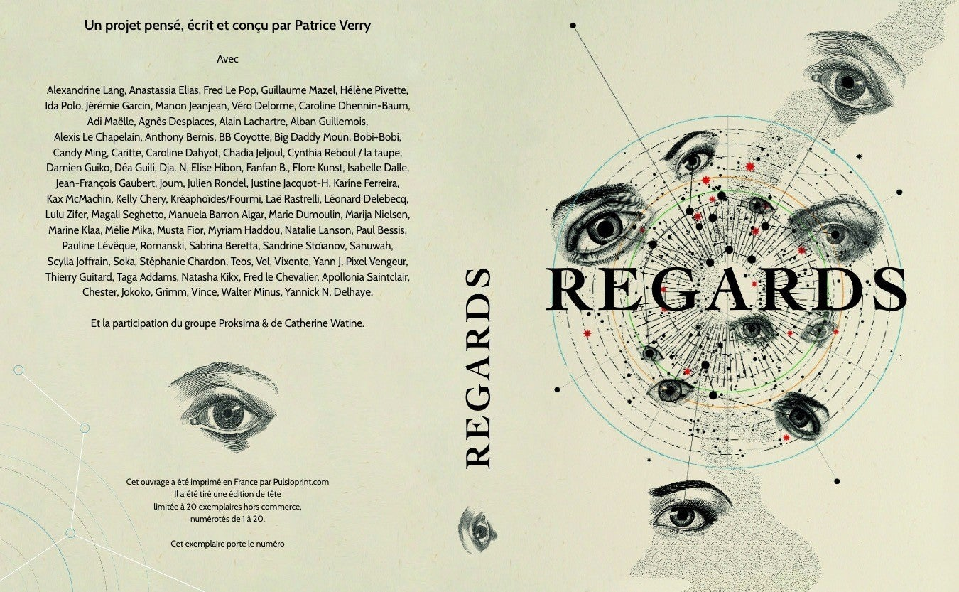 Image of Regards. Un livre d'exception ! Anthologie illustrée par près de 80 artistes !