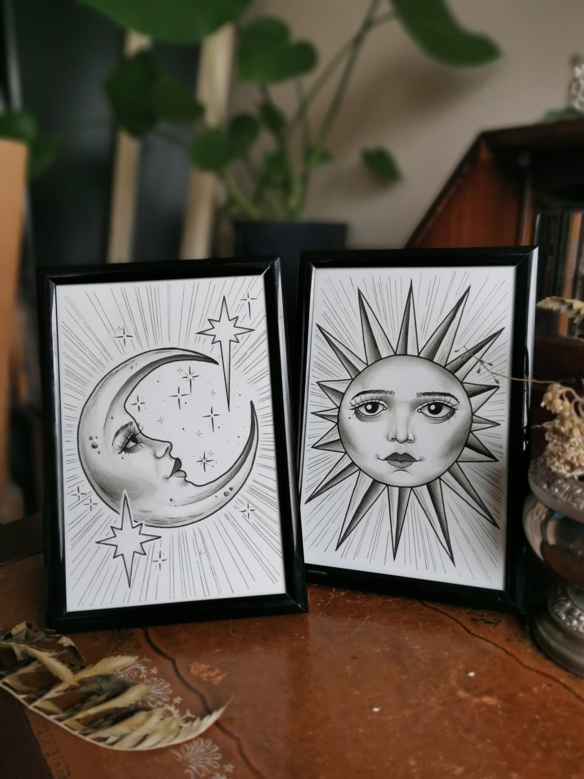 Moon & Sun Paintings