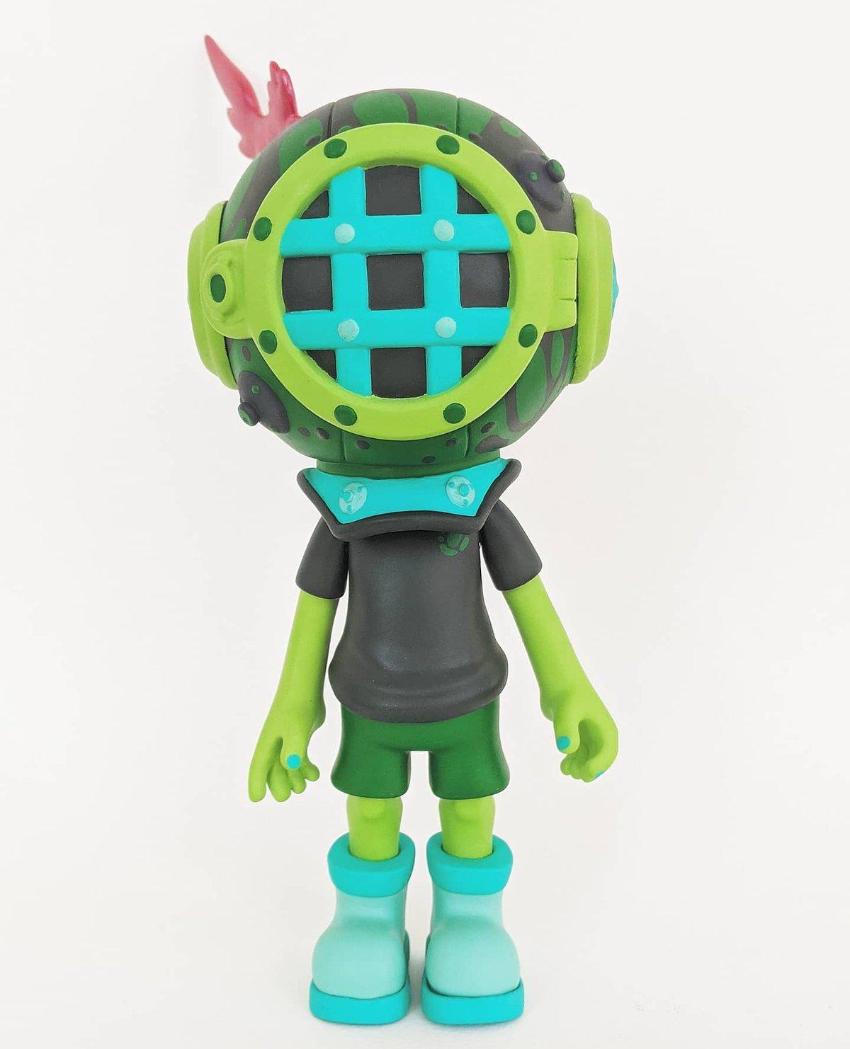 Image of Malachite Green Little Sank Vinyl Figure