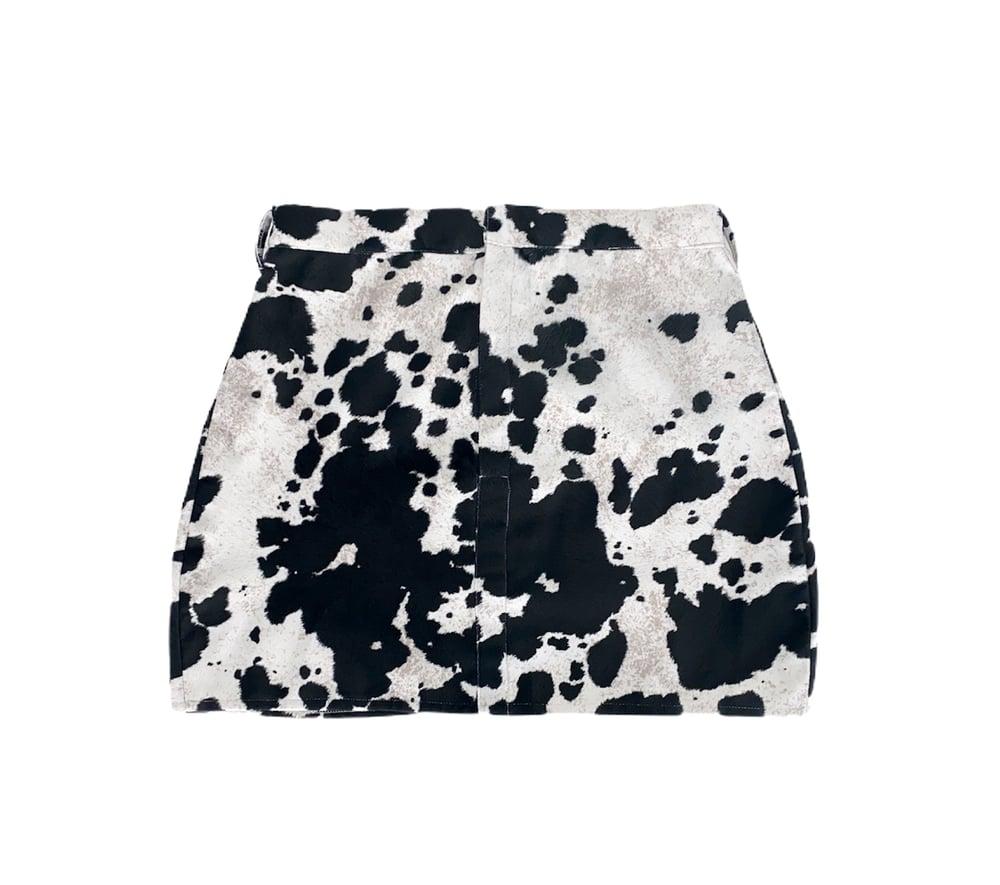 """Image of """"Moo Moo"""" Printed Skirt"""