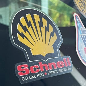 Image of Schnell Clear Backed Sticker