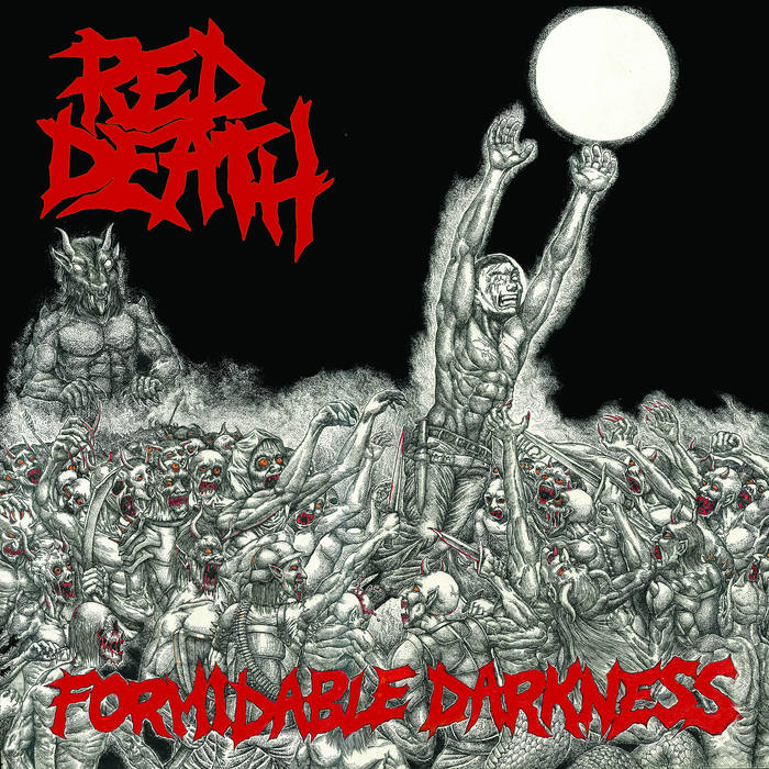 """Image of Red Death """"Formidable Darkness"""" LP"""