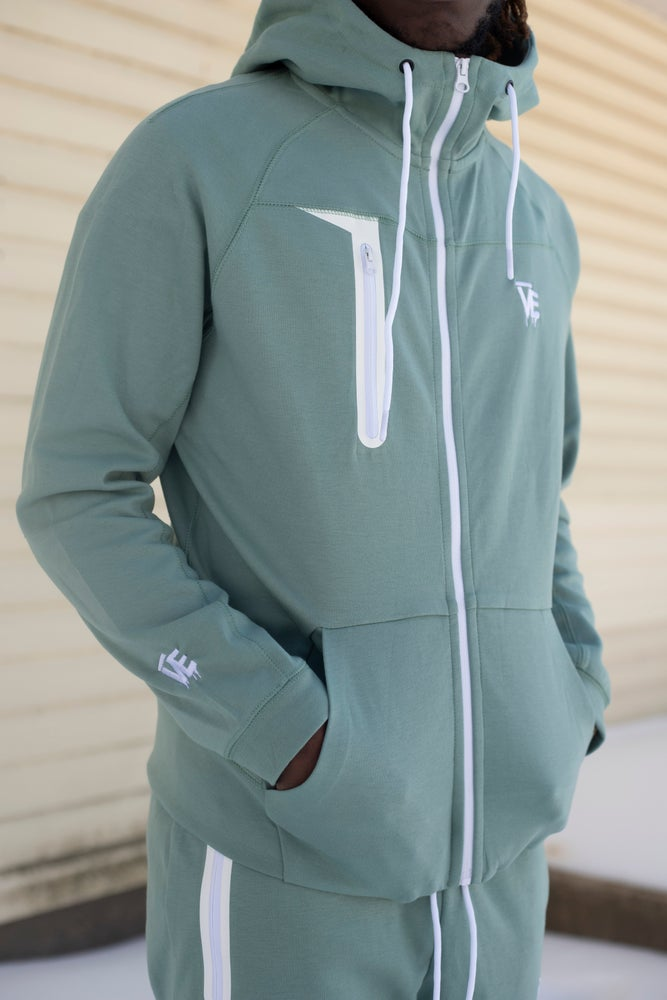 Image of Mint VE Drip Tech Sweatsuit