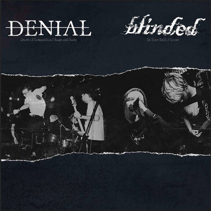 "Image of Denial / Blinded ""Split"" 7"" (White)"