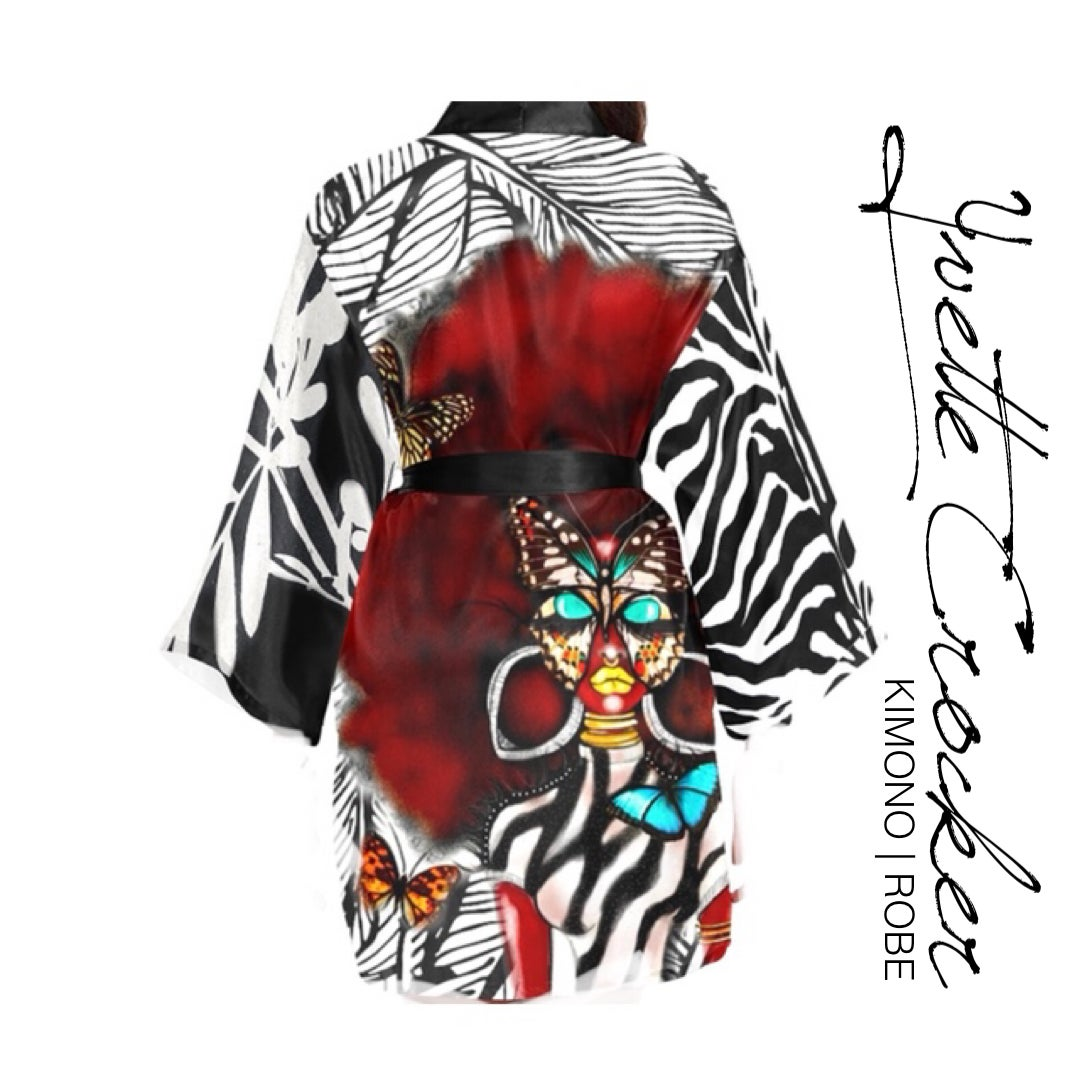 Image of  BUTTERFLY TRIBE KIMONO | ROBE