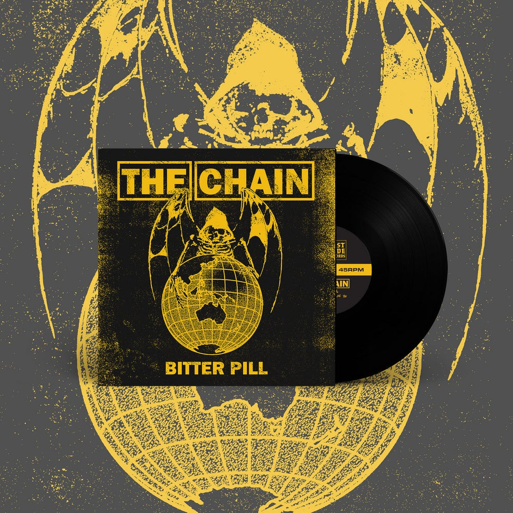 """Image of The Chain """"Bitter Pill"""" 7"""" (Black)"""