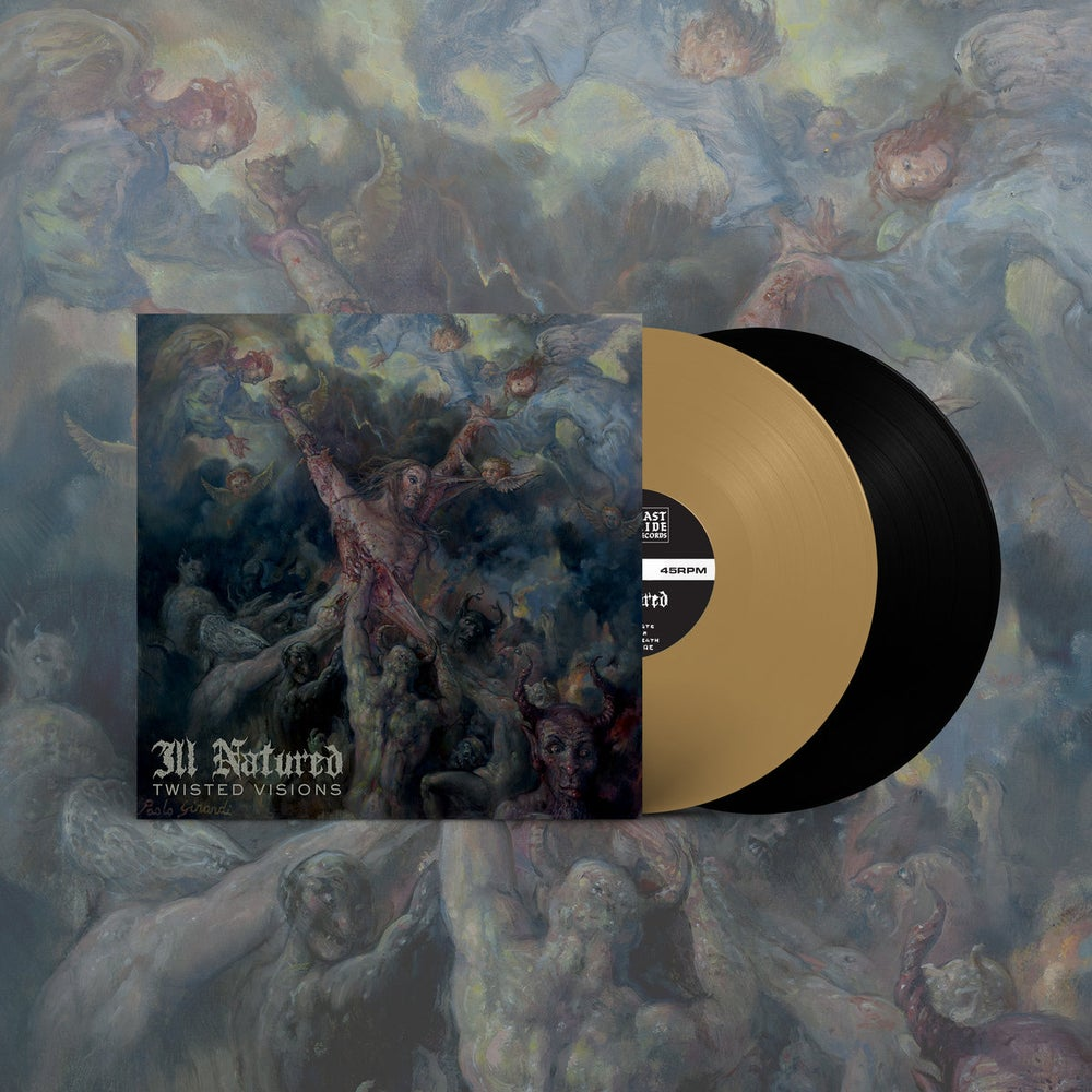 """Image of Ill Natured """"Twisted Visions"""" LP (Black)"""