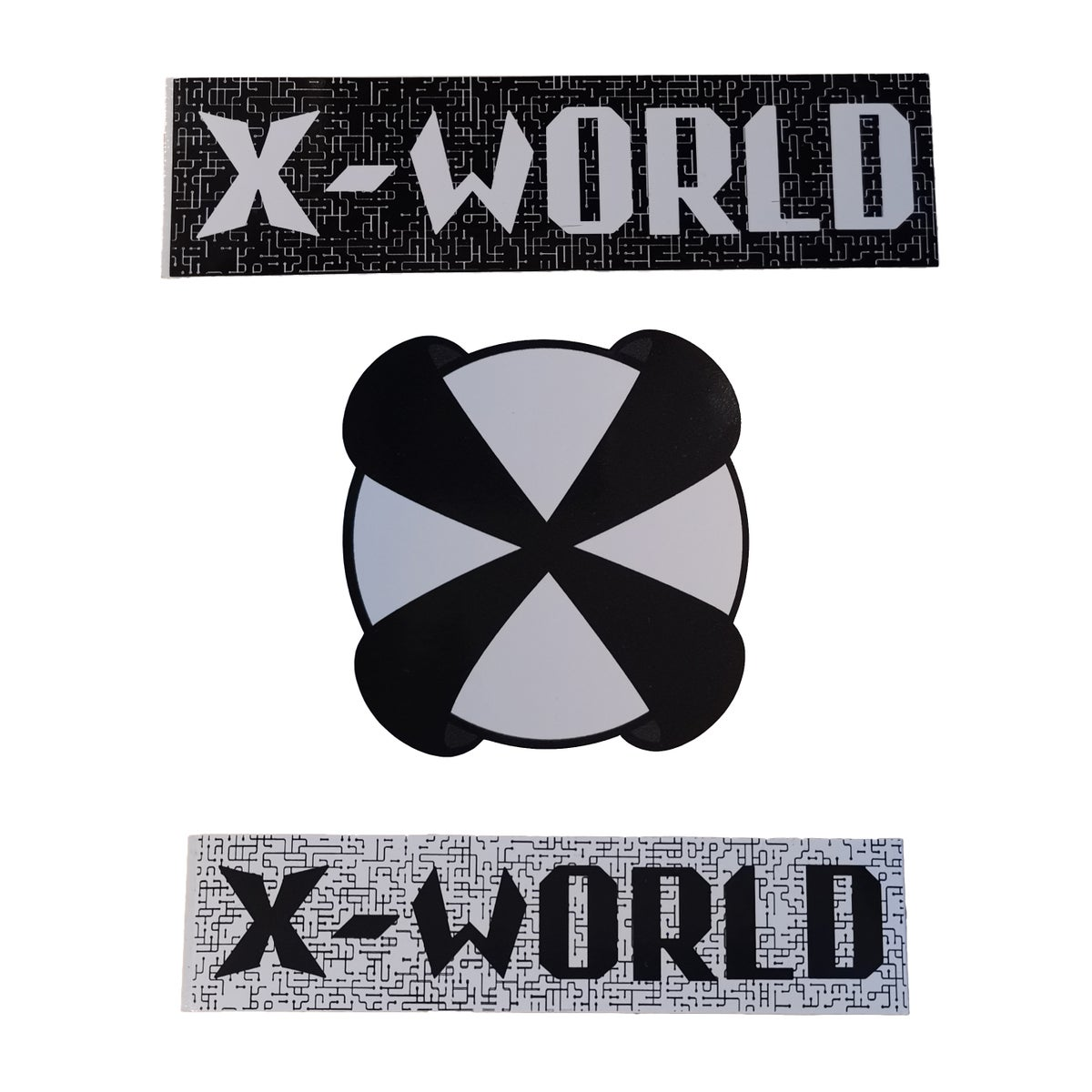 Image of X-WORLD STICKERS