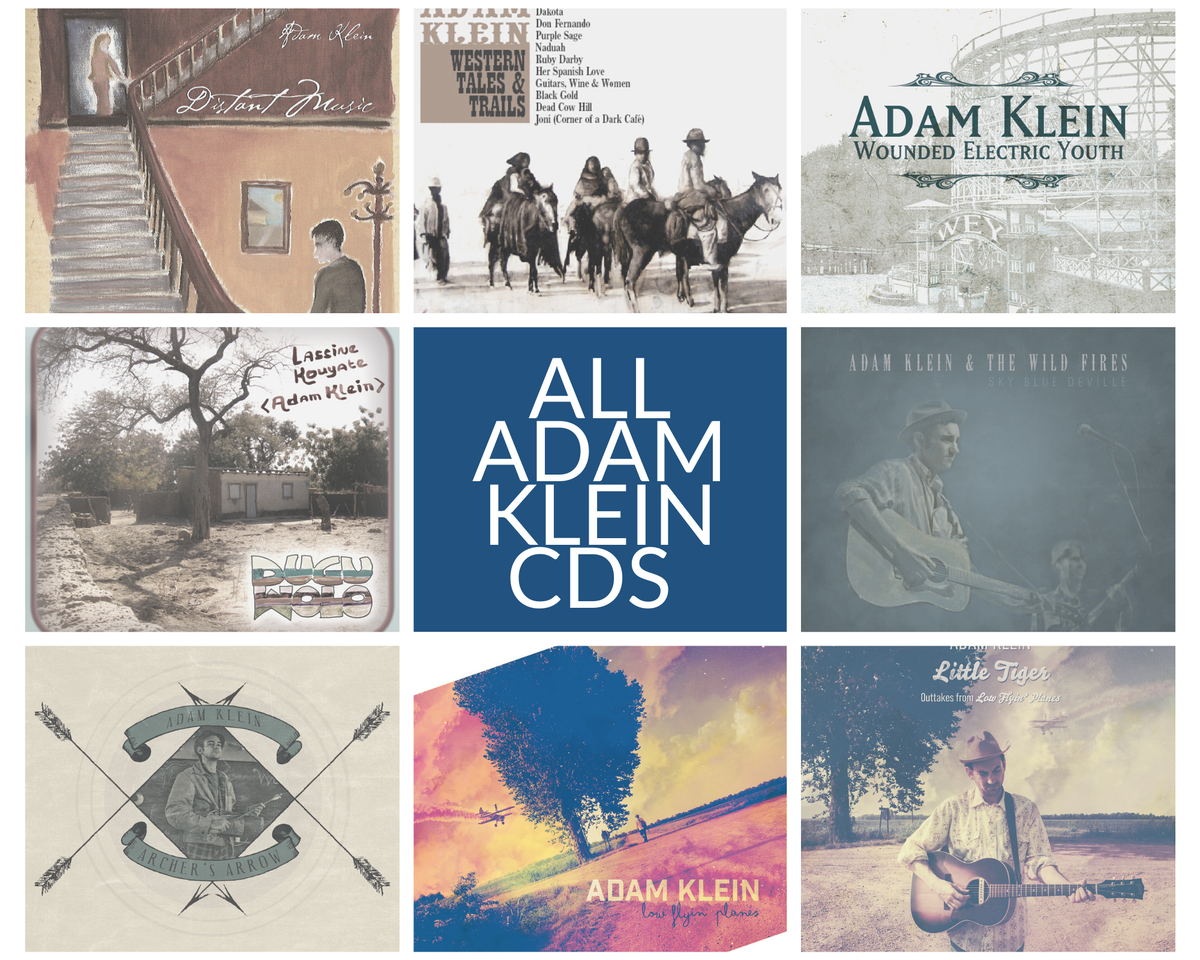 Image of All Adam Klein CDs