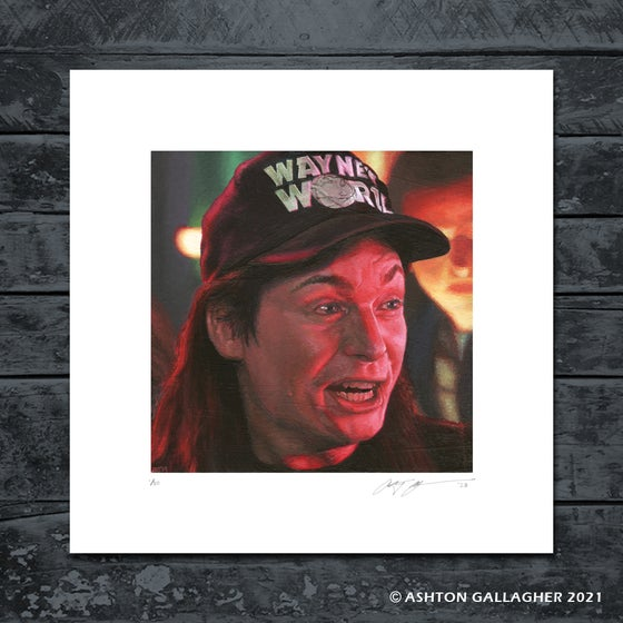 Image of WAYNE MINI PRINT