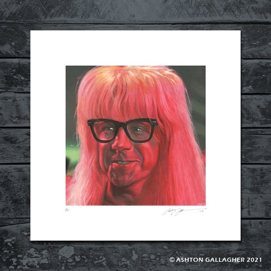 Image of GARTH MINI PRINT