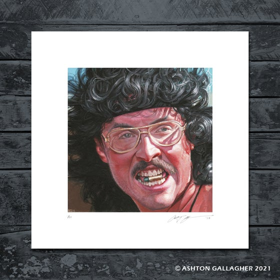 Image of WEIRD AL MINI PRINT