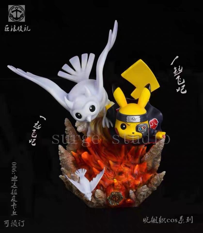 Image of  [Back-Order][Last-Stock]Surge Studio Pikachu Cross Deidara Resin Statue