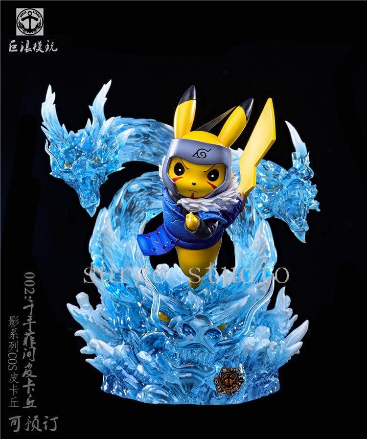 Image of [Back-Order][Last-Stock]Surge Studio Pikachu Cross Toshirama Resin Statue