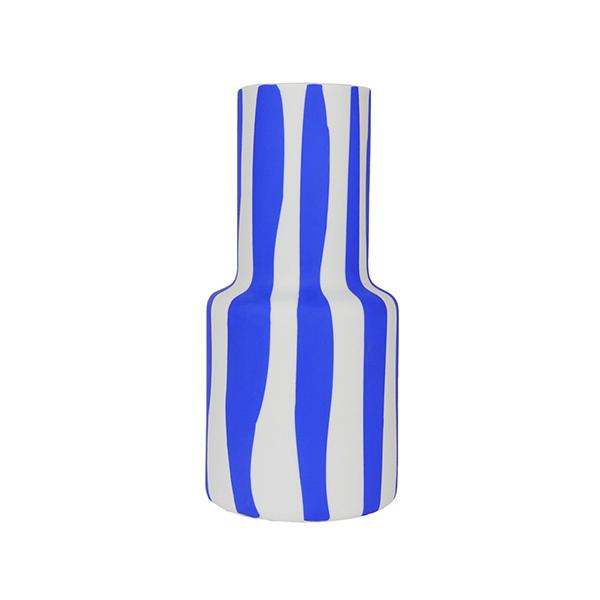 Image of Hand Painted Epoca Vase - Wavy