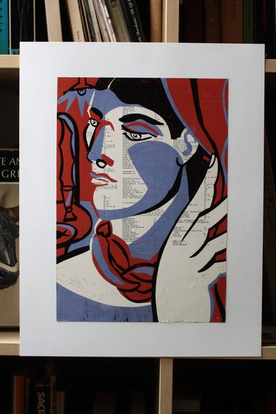 Image of Matador - limited edition a3 reduction print