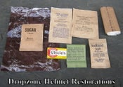 Image of MCI Ration Accessory Packets. Late Vietnam War Era -Post War. Sealed/Un-opened.